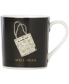 kate spade new york Things We Love News Well-Read Tote Mug