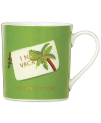 Things We Love Globetrotter Palm Mug