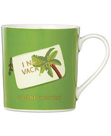 kate spade new york Things We Love Globetrotter Palm Mug