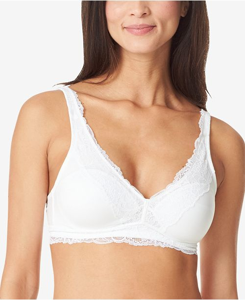Warner's Lace Escape Wirefree Contour Bra with Lace Trim RO3361A