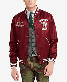 Polo Ralph Lauren Men's Sateen Baseball Jacket