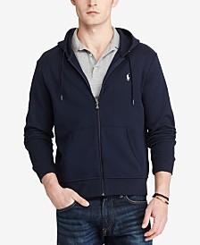 Polo Ralph Lauren Men's Big & Tall Double-Knit Full-Zip Hoodie
