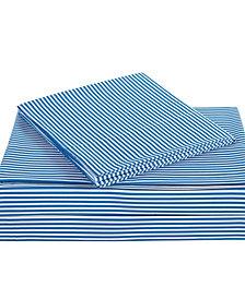 Truly Soft Everyday Stripe 4 Piece Full Sheet Set