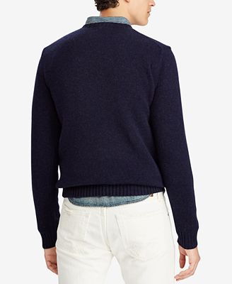 Polo Ralph Lauren Mens Polo Bear Classic Fit Sweater Sweaters