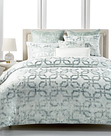 CLOSEOUT! Fresco Sage Bedding Collection, Created for Macy's