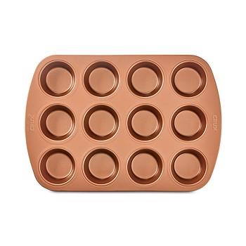 Crux Nonstick Copper 12-Cup Muffin Pan