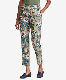 Lauren Ralph Lauren Floral-Print Twill Pants