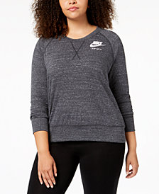 Nike Plus Size Sportswear Gym Vintage Top