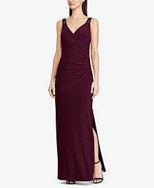 Lauren Ralph Lauren Beaded Gown