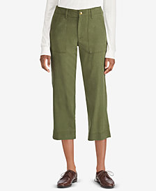 Lauren Ralph Lauren Straight Stretch Pants