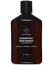 Blind Barber Lemongrass Tea Shampoo & Bodywash, 12-oz.