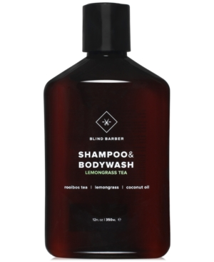 Blind Barber Lemongrass Tea Shampoo & Bodywash, 12-oz.