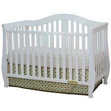 Desiree 4-in-1 Crib, White