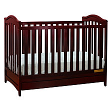 Jeanie 3-in-1 Crib, Cherry
