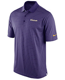 Nike Men's Minnesota Vikings Stadium Polo