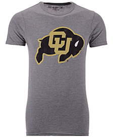 Retro Brand Men's Colorado Buffaloes Alt Logo Dual Blend T-Shirt