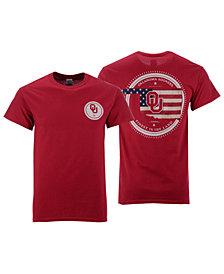 New World Graphics Men's Oklahoma Sooners Flag Fill T-Shirt