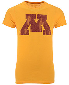 Retro Brand Men's Minnesota Golden Gophers Alt Logo Dual Blend T-Shirt