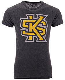Retro Brand Men's Kennesaw State Owls Alt Logo Dual Blend T-Shirt