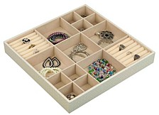 Home Basics 15-Compartment Jewelry Organizer