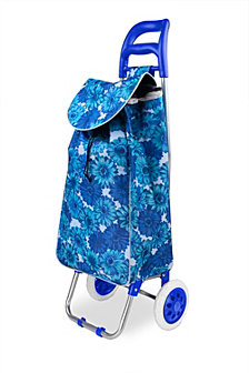 Rolling Shopping Cart, Floral