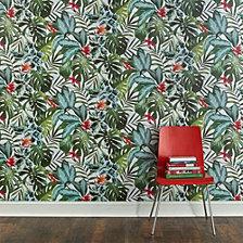 Tempaper Rainforest Self-Adhesive Wallpaper
