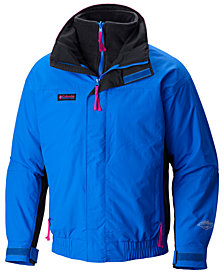 Columbia Men's Bugaboo Waterproof Fleece-Lined Jacket