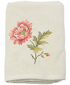 Croscill Daphne Cotton Embroidered Bath Towel