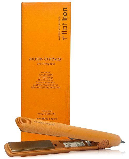 """Mixed Chicks 1"""" Flat Iron, from PUREBEAUTY Salon & Spa"""