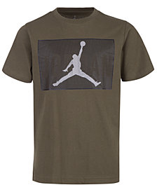 Jordan Big Boys Logo-Print Cotton T-Shirt