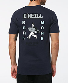 O'Neill Men's Work Less Back-Graphic T-Shirt