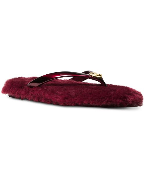 15ccedc9f6db Michael Kors Jet Set MK Jelly Sandals   Reviews - Sandals   Flip ...