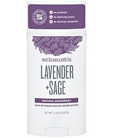 Schmidt's Deodorant Lavender + Sage Deodorant Stick