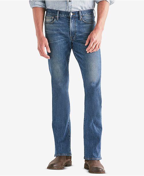 169f6b87 Lucky Brand Men's 367 Vintage Boot-Cut Jeans & Reviews - Jeans - Men ...