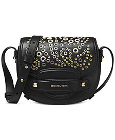 MICHAEL Michael Kors Mini Embellished Saddle Crossbody