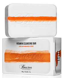 Baxter Of California Vitamin Cleansing Bar - Citrus & Herbal-Musk Essence, 7-oz.