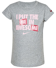 Nike Little Girls Awesome-Print T-Shirt