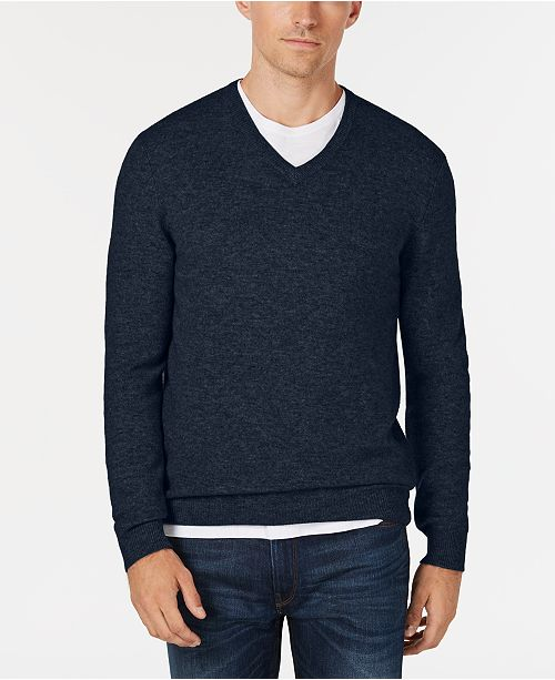 974eee4603 Club Room Men s V-Neck Cashmere Sweater