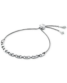 Women's Mercer Link Sterling Silver Slider Bracelet