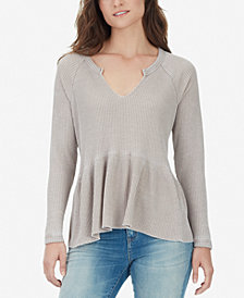 WILLIAM RAST Gryphon Peplum Top