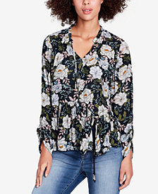 WILLIAM RAST Matilda Asymmetrical Peplum Top