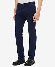 Calvin Klein Men's Sateen Bowery Casual Pants