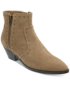 Marc Fisher Wanida Studded Western Booties