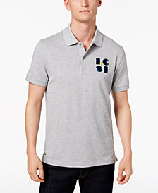 Lacoste Men's LCST Flocked Logo Piqué Polo