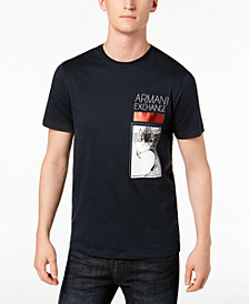 A|X Armani Exchange Men's Eagle Logo Graphic T-Shirt
