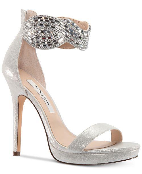 Nina Fayth Platform Dress Sandals