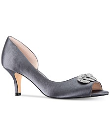 Madolyn Peep-Toe Pumps