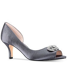 Nina Madolyn Peep-Toe Pumps