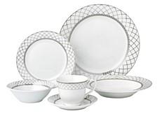Verona 24-Pc. Dinnerware Set, Service for 4