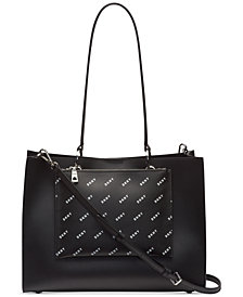 DKNY Mott Diagonal Logo Tote, Created for Macy's